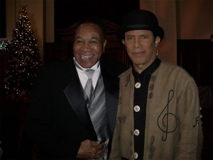 "with G. C. Cameron former lead singer of the Detroit Spinners (""It's A Shame"", ""I'll Be Around"" etc….) Had fun spending some time with this very talented brother."