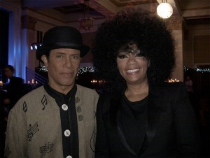 with Jody Watley  singer from Shalamar
