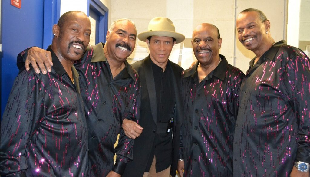 Gregory Abbott with The Tymes