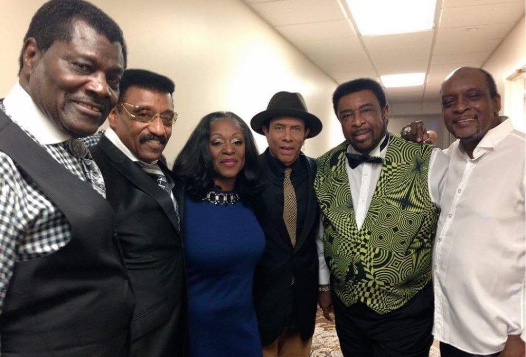 Myself and Regina Belle with my man Dennis Edwards andhellip