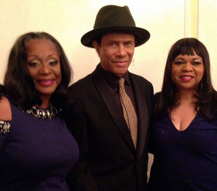 In Memphis with Gregory Abbott and two lovely ladies Denicehellip
