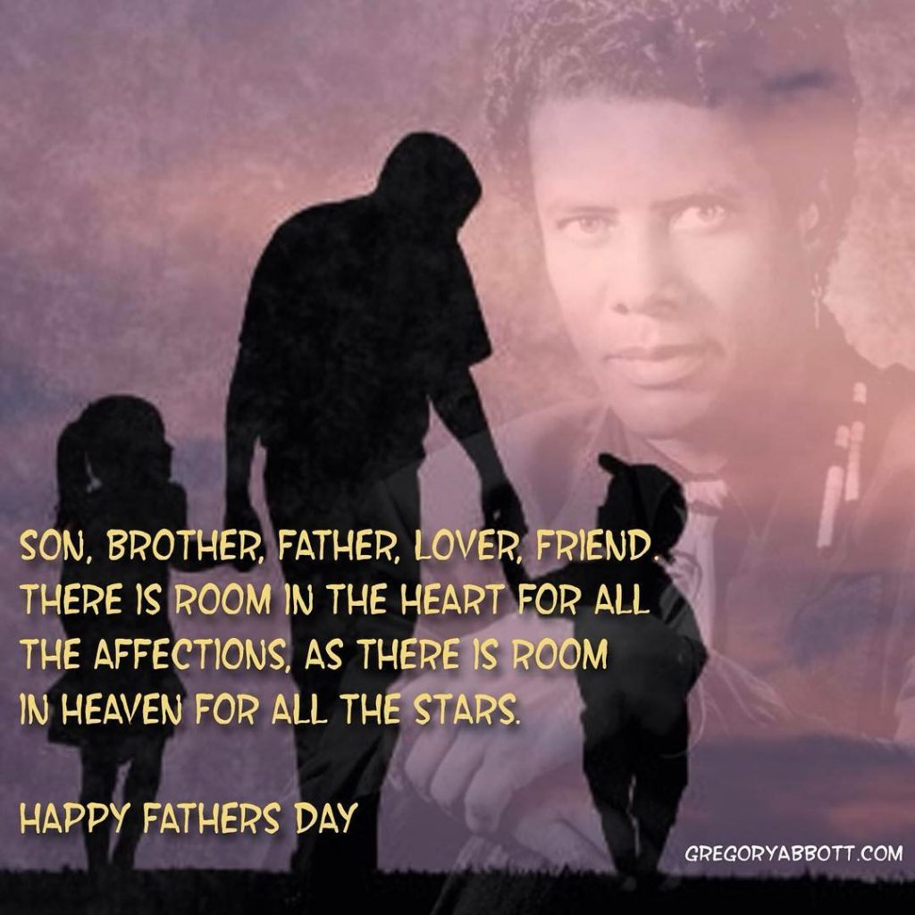To all the fathers out there and the women andhellip