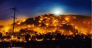 Fire everywhere Prayers Californias Wildfires Just Tripled in Size motherjonescomenvironment20hellip