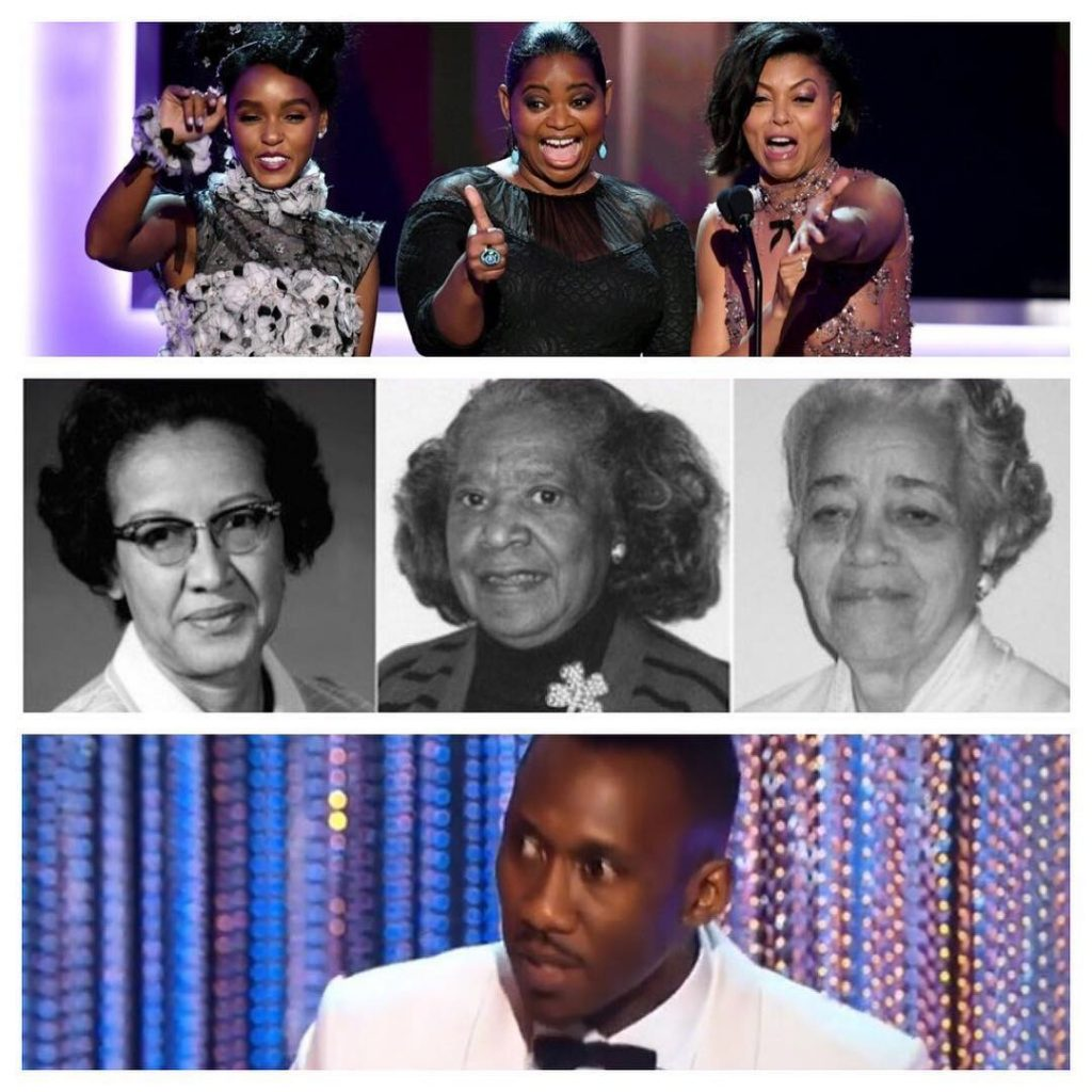Bravo Hidden Figures and Moonlight fabulous performances SAGawards MahershalaAli andhellip