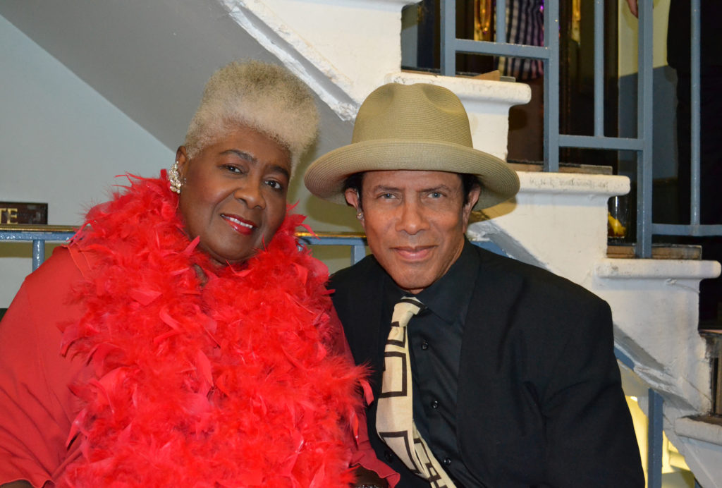Gregory Abbott (Shake You Down) with Dorothy Moore (Misty Blue)
