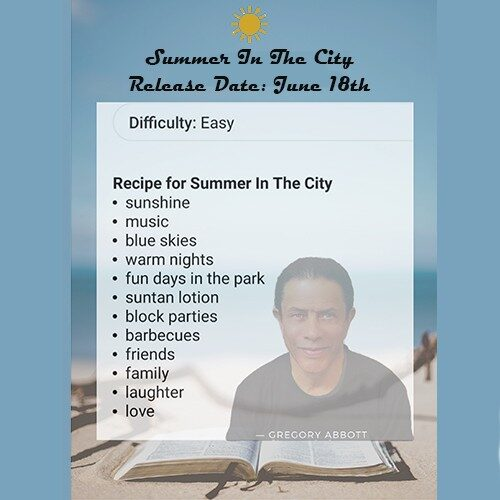 summer in the city release announcment blog